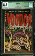 Voodoo 5 1953 Nazi Death Camp Ajax Farrell Cgc 8.5 Qualified Married Cover