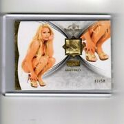 Mary Riley 2013 Gold Edition Benchwarmer Shoe Depicted Card 07/50