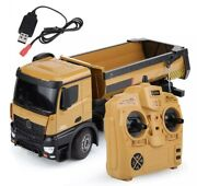 Huina 1573 114 Rc Remote Control Construction Dump Truck Toy Andldquo Ship From Us Andldquo