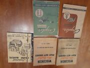 2 Chrysler Industrial Engine Manuals And Others.