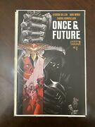 Once And Future 1 Boom Studios Nm Unread 8 Eighth Print Variant Comic 2020