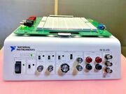 National Instruments Ni Elvis With Prototyping Board And Ac Adapter