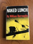 Naked Lunch 1st. Edition William Burroughs Grove Press Inc Ny 1959 Signed