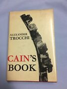 Cain's Book By Alexander Trocchi Signed Rare 1st /1st 1963 Hbdj