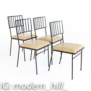 Milo Baughman For Pacific Iron Works Mid Century Chairs - Set Of 4 - Vintage Mcm