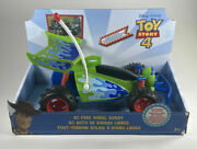 Brand New - Disney Pixar Toy Story 4 Rc Free Wheel Buggy Push And Go Action
