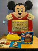 Disney Mickey Mouse Etch A Sketch Store Display W/ Shipping Box