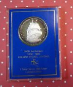 Limited Edition Kalmar Nyckel Landing One Ounce Troy .999 Fine Silver Round Rare