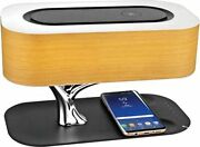 Hometree Tree Of Light Led Bedside Lamp For Bedroom Wooden Table Lamp Phone Char