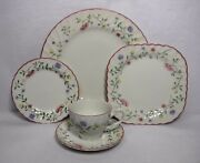 Johnson Brothers China Summer Chintz Made In England 5-piece Place Setting