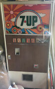 Sv Selectivend Sv-295 7-up Soda Machine Peter Max Graphics 100 Functioning Rare