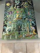 Rare Vintage The House On Haunted Hill Puzzle 1973 Springbok 100 Pcs Complete