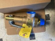 Steam Boiler Safety Pressure Relief Valve 1andrdquo Apollo Other Sizes Available.