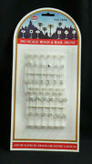Model Power Ho Gauge 1454 - Road And Rail Signs 24 For Train Railroads