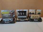Lot Of 3 Beatles Album Cover Die Cast Vehicles Collectible