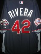 Mariano Rivera Signed 2009 All Star Jersey + Baseball-auth.majestic-n.y. Yankees