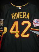 Mariano Rivera Signed 2006 All Star Jersey + Baseball-auth.majestic-n.y. Yankees