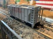 N Scale Atlas Trainman Ps-2 Hopper Ful-o-pep Feeds Knuckle Couplers New Detailed