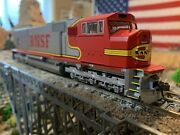 Ho Scale Athearn Genesis Sd75m Bnsf Warbonnet Dc Powered New Well Detailed
