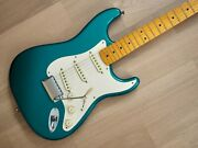 2010 Fender American Vintage And03957 Stratocaster Ocean Turquoise 100 Original