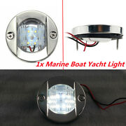 12v Marine Boat Yacht Stainless Steel Led Light All Round White Stair Lamps