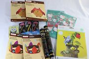 Mixed Lot Of Kids Craft Kits Stickers Glow Sticks Cards - 13 Pieces
