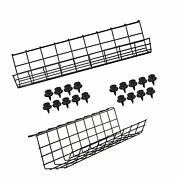 Under Desk Cable Management Tray - Under Desk Cable Organizers For Wire Manag...