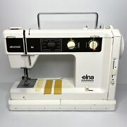Vintage Elna Carina Electronic Su 65 Sewing Machine - Parts/repair Only - Read