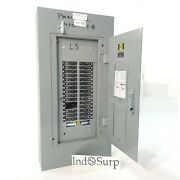 Square D Nqo Panel With Breakers 100 Amp 120/208 Volt 3 Phase 4 Wire