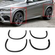 4x Fit For Bmw X5 F15 14-18 Wheel Arch Wide Fender Flares Cover Trims Black