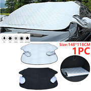 Car Magnetic Windscreen Cover Frost Ice Shield Snow Dust Protector Sun Shade