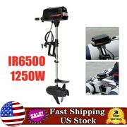 48v Heavy Duty Electric Boat Engine 2200w 8hp Brushless Outboard Trolling Motor