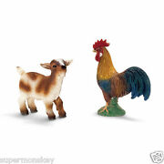 Germany Schleich World Of Nature Model Sh21032 Antelope And Cock