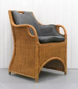 Lovely Jamaica Wicker Dining Chair On Grey Seat Very Comfortable