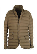 New Purple Label Quilted Down Jacket Coat Size 56 It / U.s.