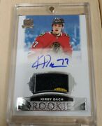 2019-20 Ud The Cup Kirby Dach Rookie Auto Patch 34/99