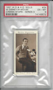 1931 Walt Disney And Mickey Mouse Wd And Ho Wills Cinema Stars Psa 6 Exmt Ex-mt