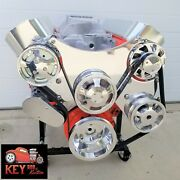 Big Block Chevy Serpentine Kit Front Drive System Polished Bbc 396 427 454 502