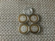 1993/1994/1995 .999 Fine Silver Foxwoods Casino Gaming Tokens Lot Of 5