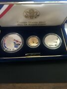 1993 Bill Of Rights Commemorative Coins Three Coin Proof Set