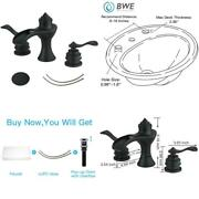 8 In. Waterfall Widespread 2-handle Bathroom Faucet With Pop-up Drain Assembly I