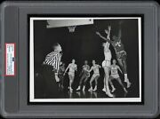 Bill Russell 1955 Ncaa Final Four Type 1 Original Photo Psa/dna Crystal Clear