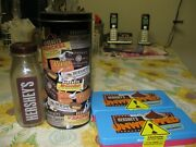Lot Of 5 Vintage Hershey Decorative Tins Chocolate - Refillable For Gift Giving