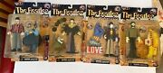 The Beatles Yellow Submarine Set Of 4 Figures By Mcfarlane, Sealed, 1999