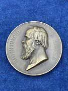 Vintage Us Mint Rutherford B Hayes 1877 Inaugural Medal 3inch Bronze Z489
