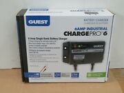 New Guest Charge Pro 6 Amp Onboard Boat Battery Charger Single Bank Marine