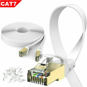 15pack Ethernet Cable Cat 7 Ultra High Speed Lan Patch S/stp Cord 3-100ft Lot
