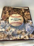 Used All Century Team Sports Biography Book Year 1999