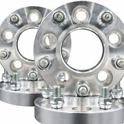 5x115 Hub 71.5 To 5x5 Wheel Centric 71.5mm Adapters 1.25 Thick 14x1.5 Studs X 4