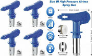 4 Pieces Reversible Spray Tips Airless Paint Sprayer Nozzle Tips...